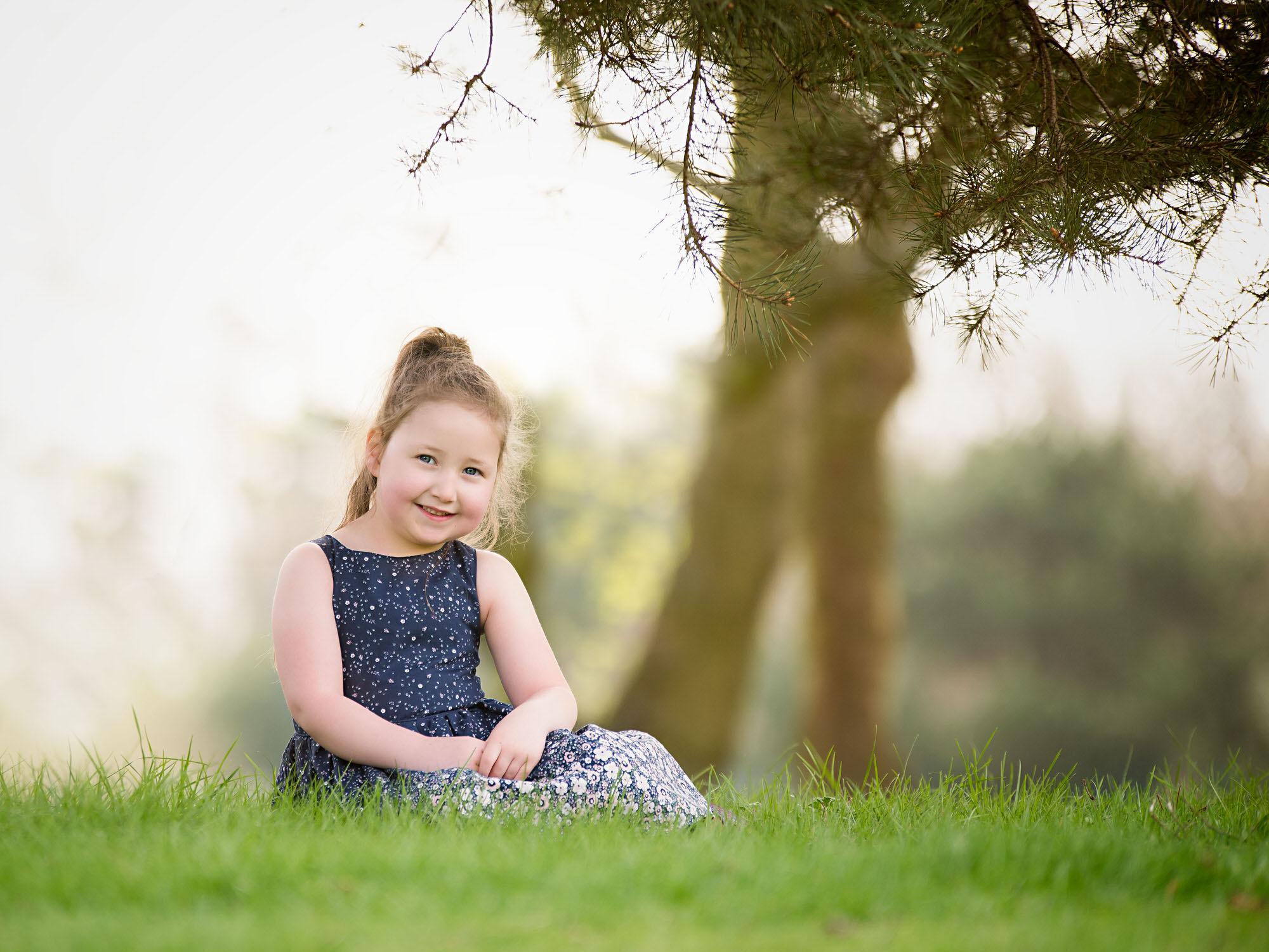 children photographer in Barnsley, outdoor spring shoot