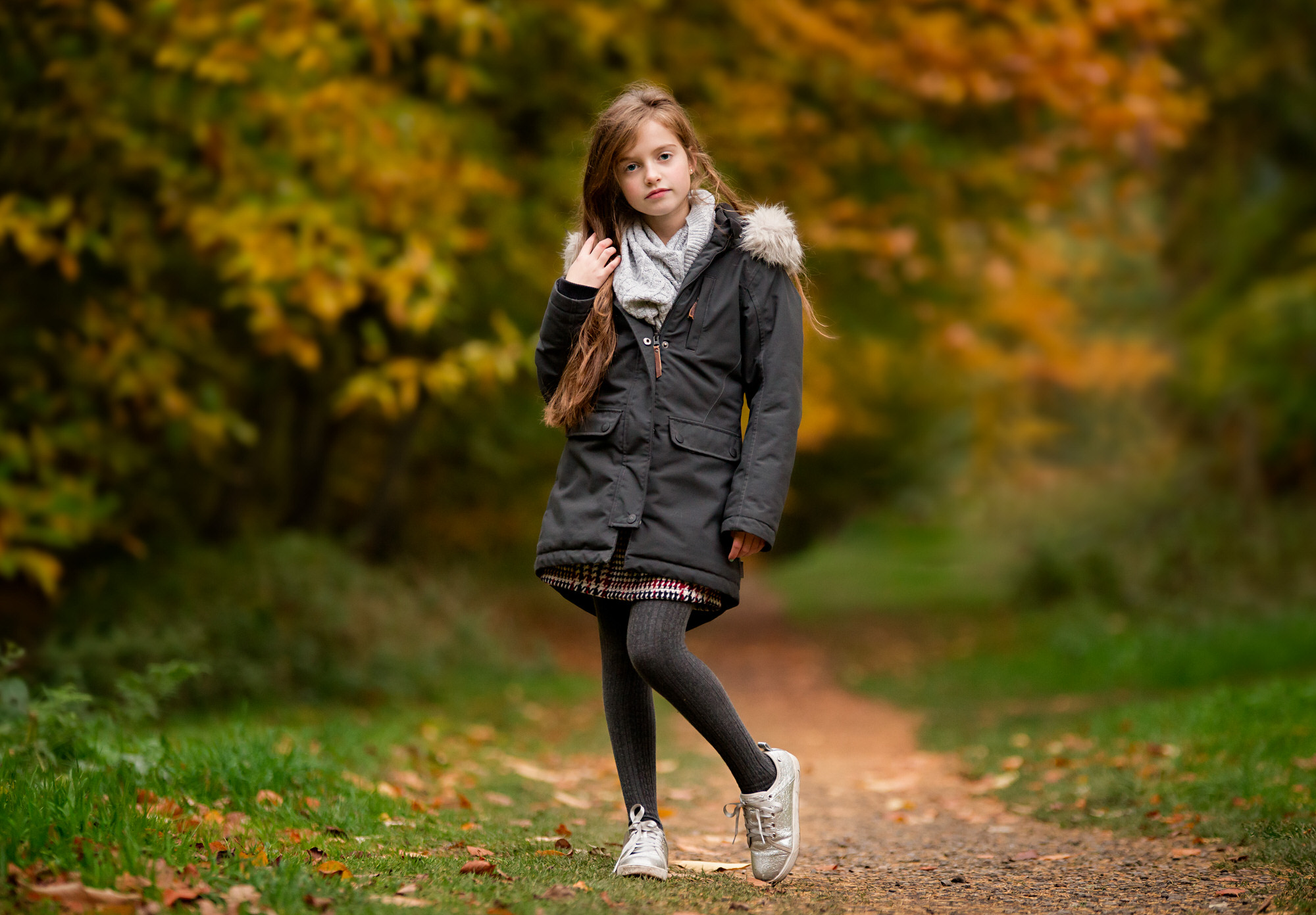 Autumn wardrobe, Barnsley family photographer