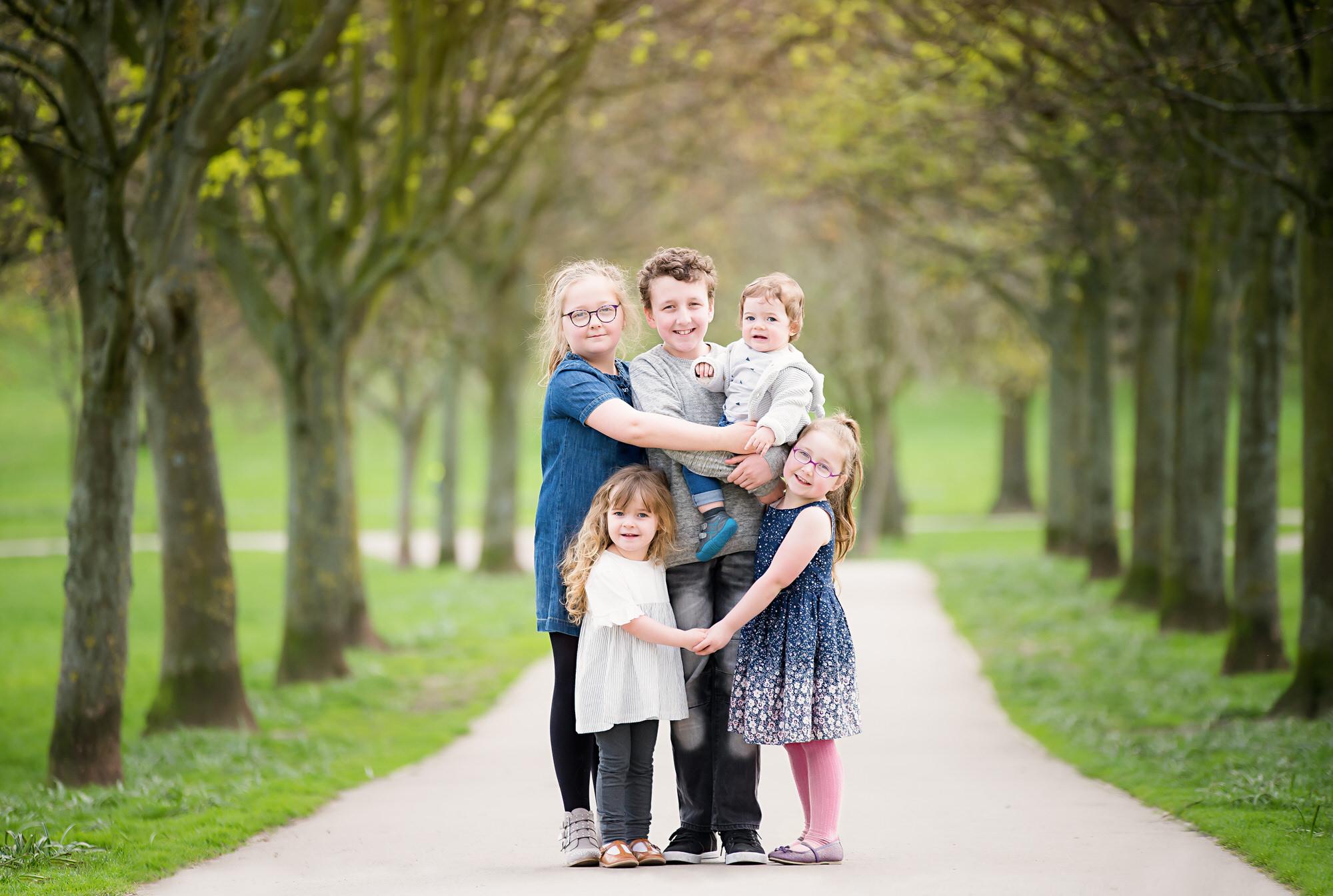 Family outdoor photoshoot, Barnsley family photographer, Yorkshire