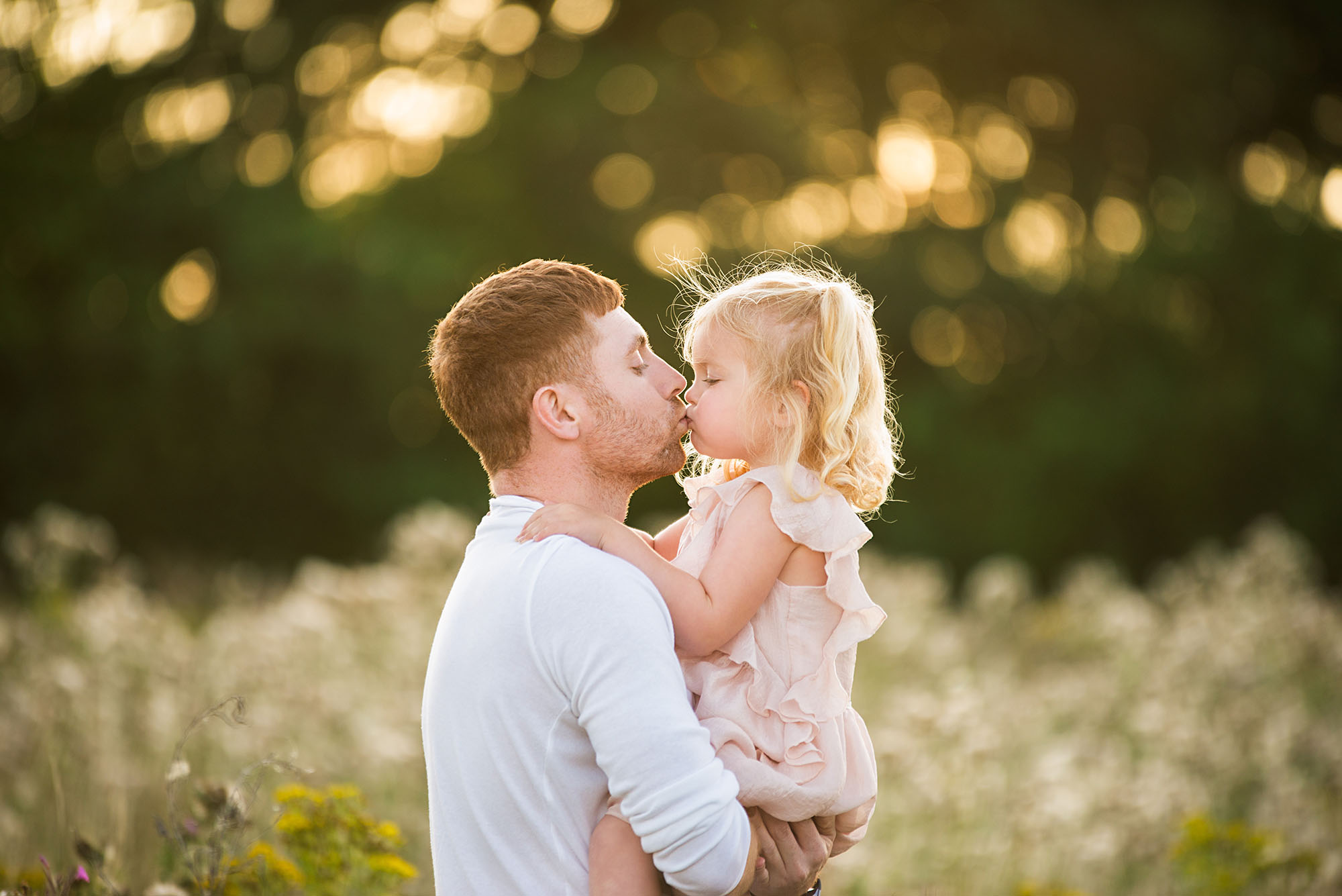 Barnsley photographer, making memories with daddy