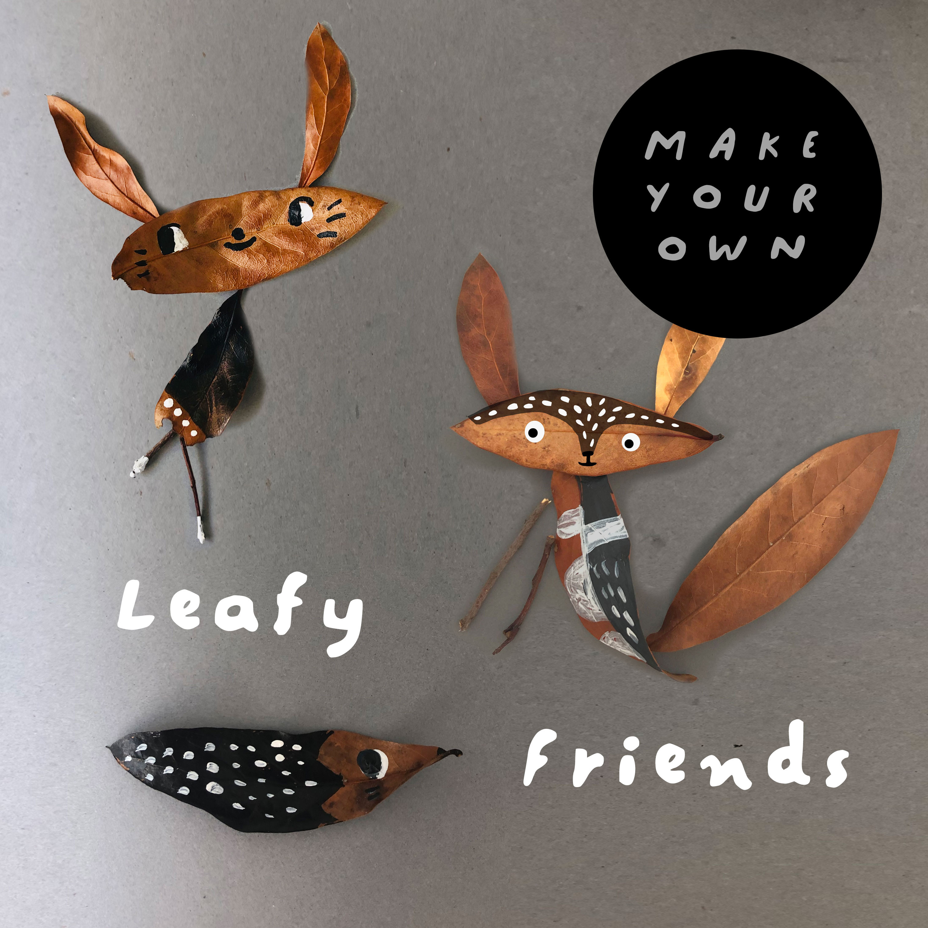 October half term, leafy friends