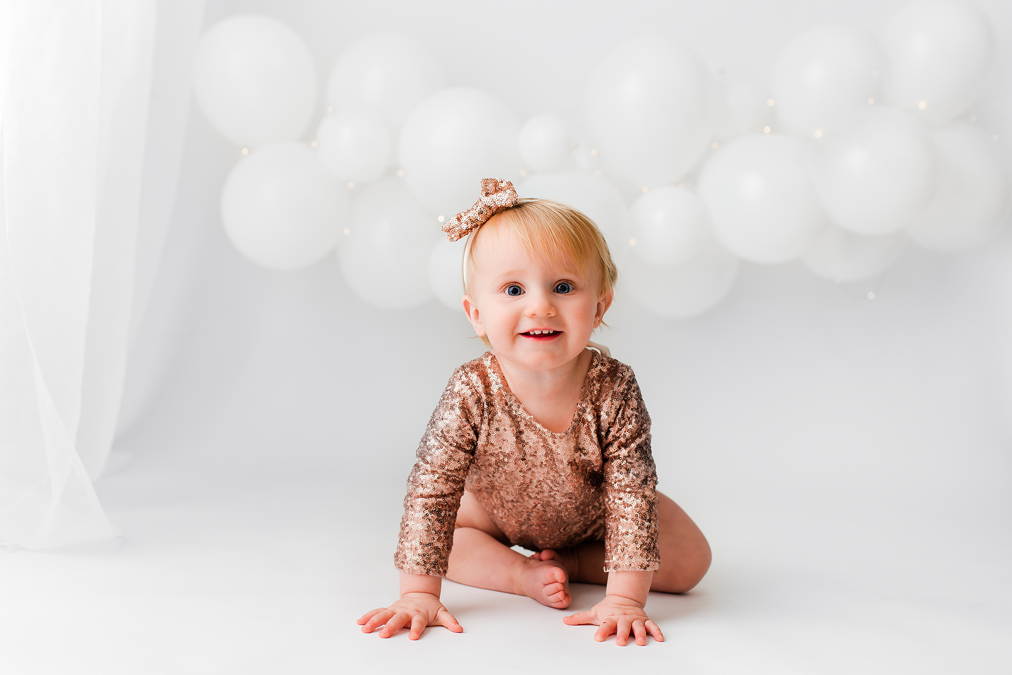 first birthday photoshoot, girl