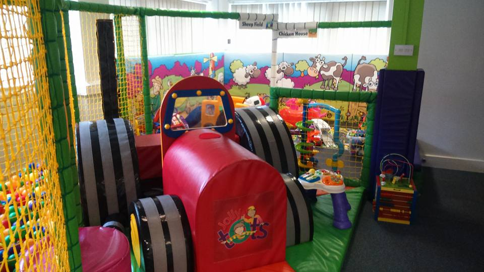 play groups and cafes for babies and toddlers around Barnsley, Jolly Tots Soft Play