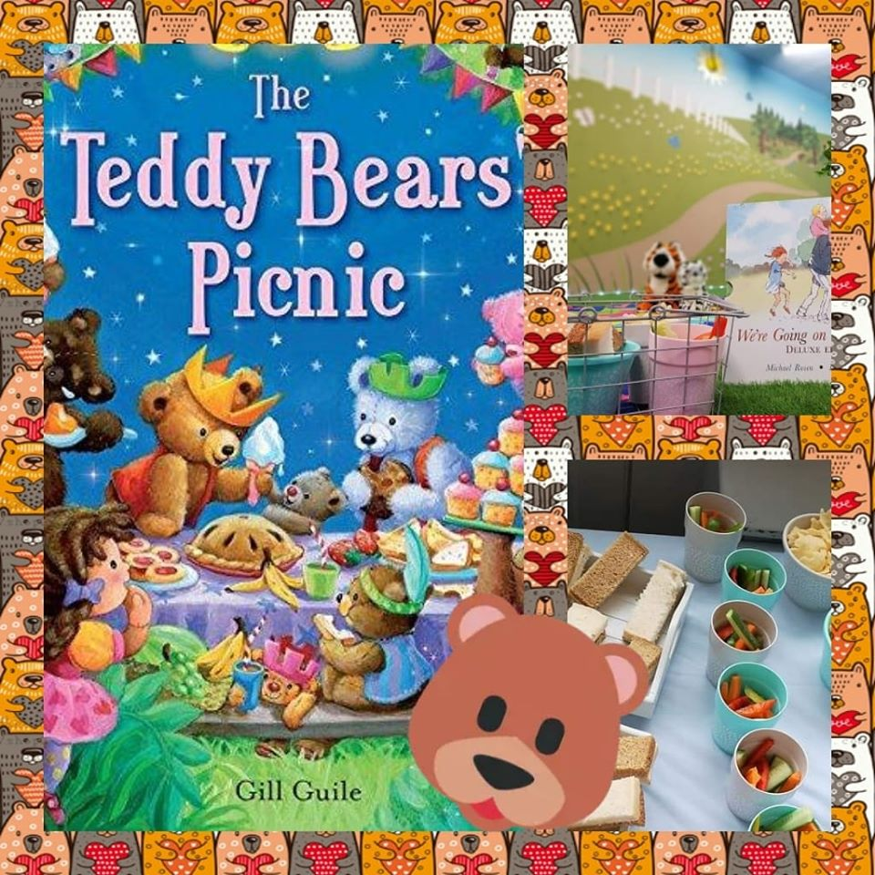 play groups and cafes for babies and toddlers around Barnsley, Babyccinos, the teddy bears picnic