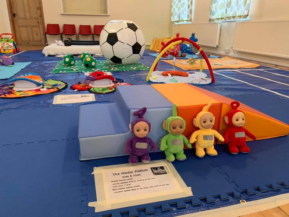 play groups and cafes for babies and toddlers around Barnsley, Baby sensory set up