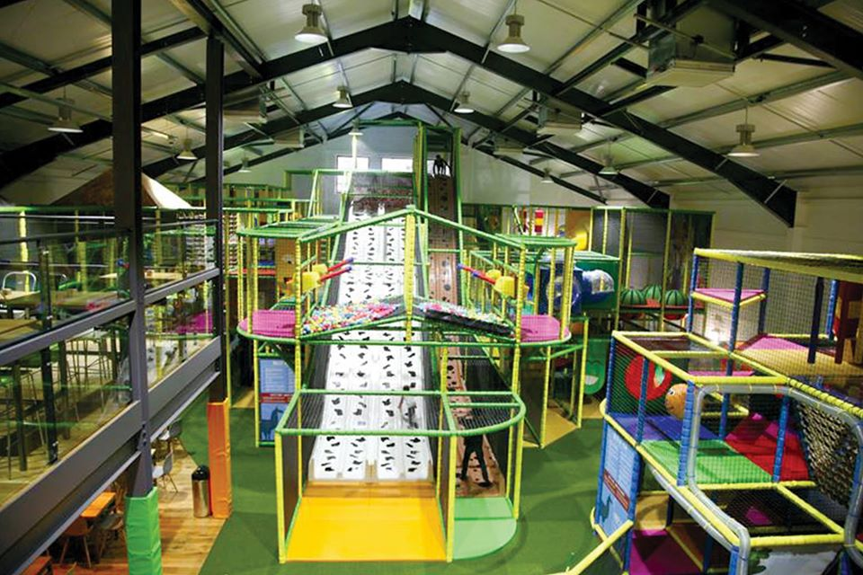 play groups and cafes for babies and toddlers around Barnsley, Cannon Hall Farm Play Gym