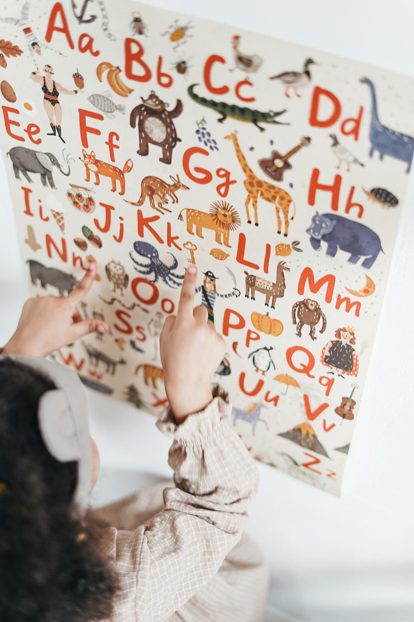 isolation activities for children, alphabet