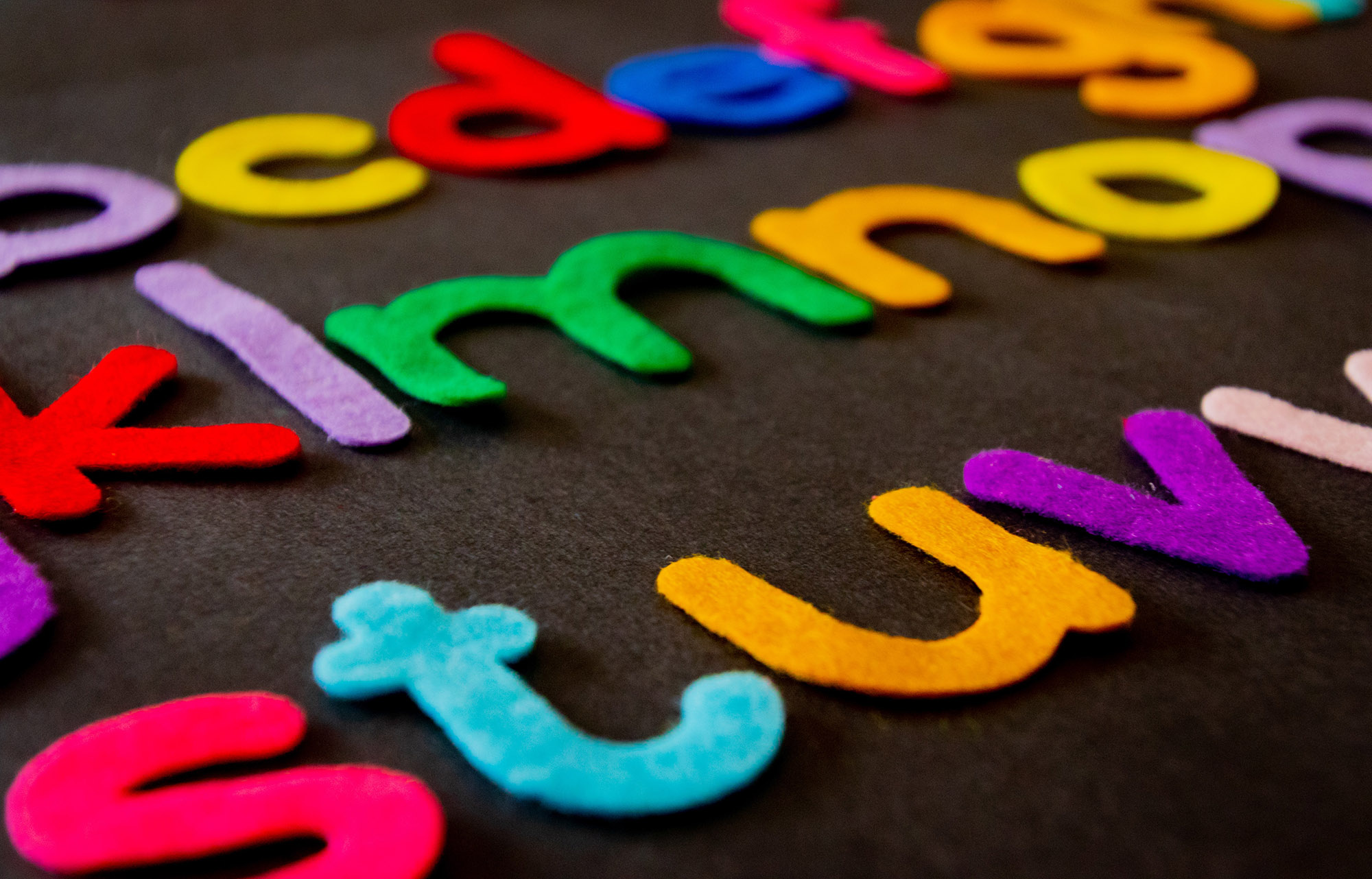 isolation activities for children, learning letters