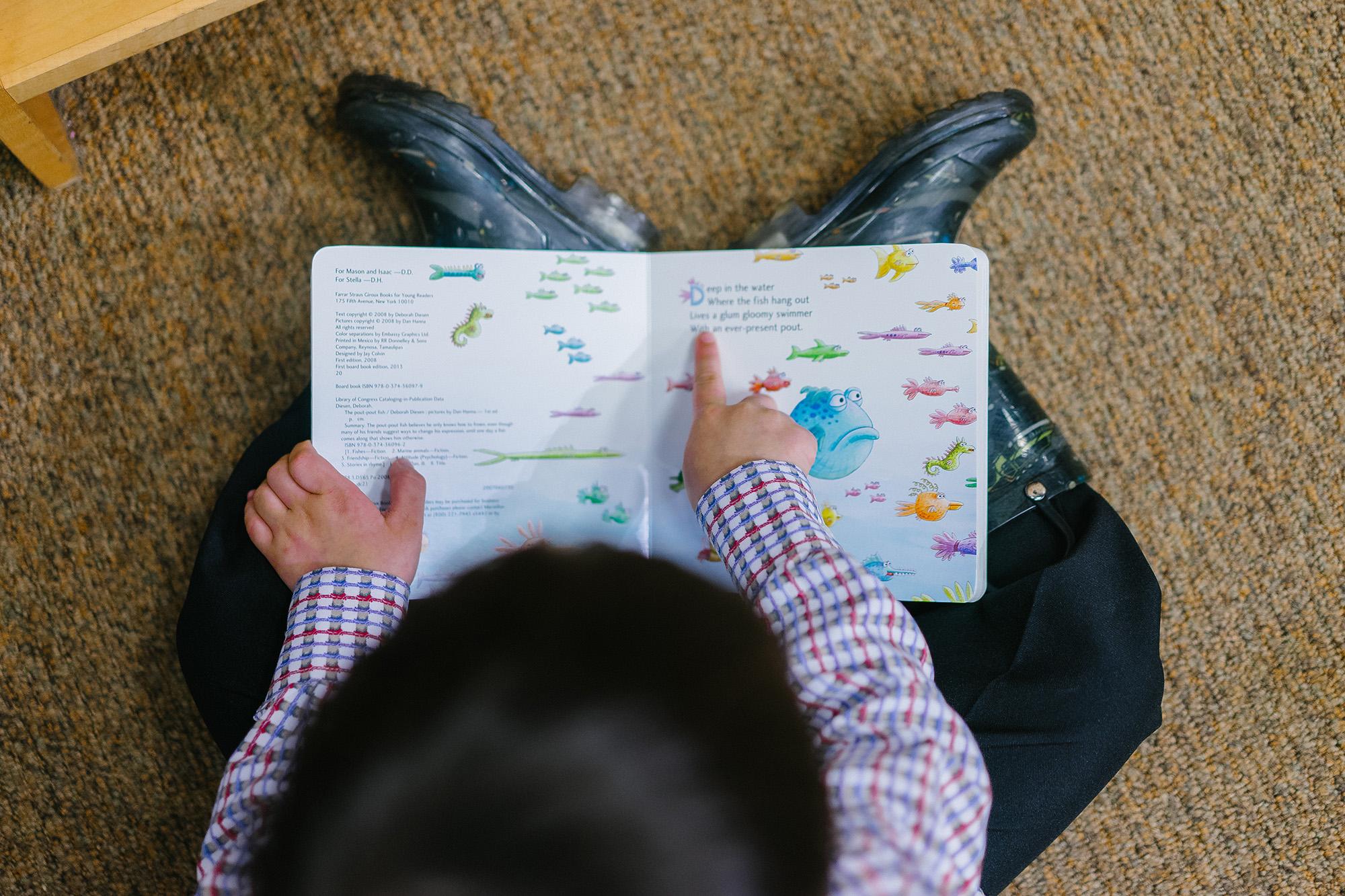 isolation activities for children, reading
