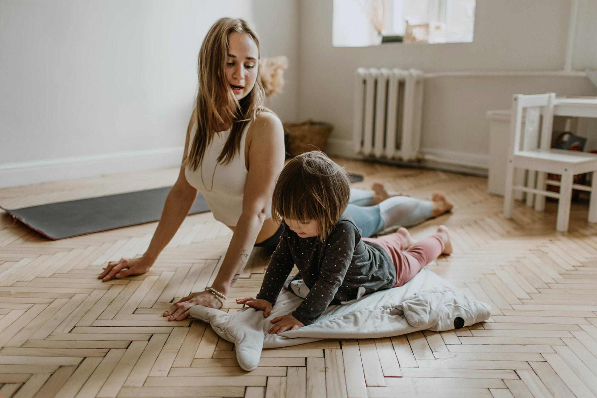 isolation activities for children, yoga