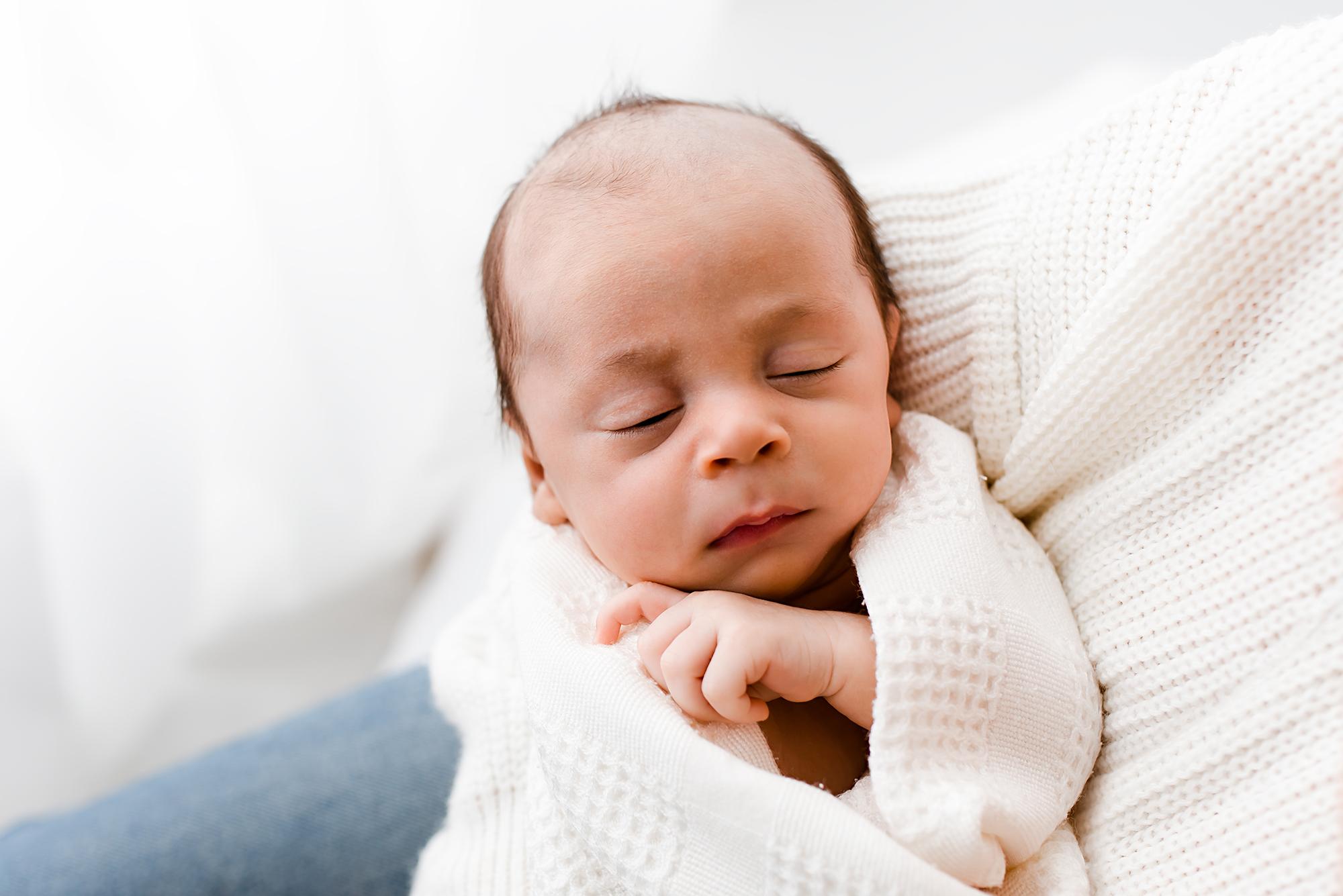 Newborn photographer Sheffield, natural baby photoshoot