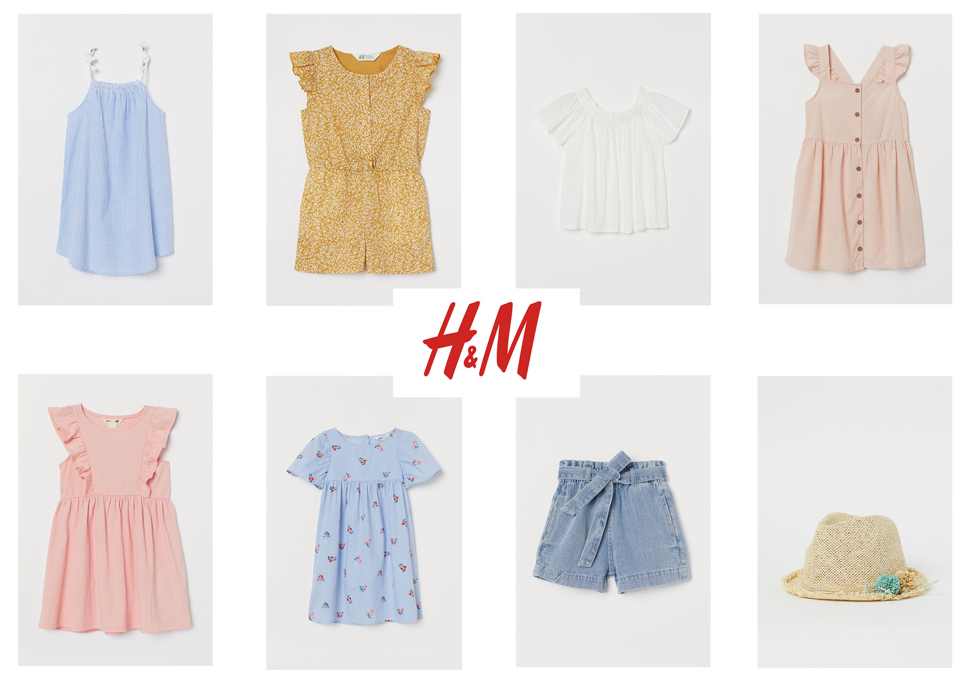 what to wear to your photoshoot, summer wardrobe, H&M girls