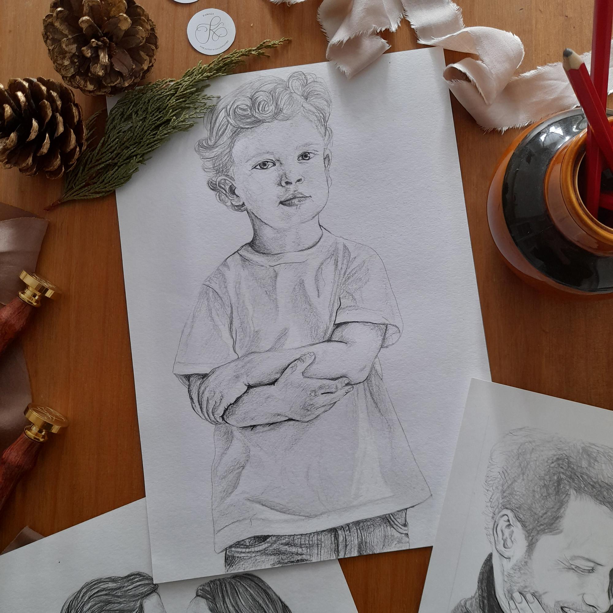shop small this christmas, Kamala Grasso Portraits
